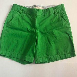J. Crew shorts green size 4